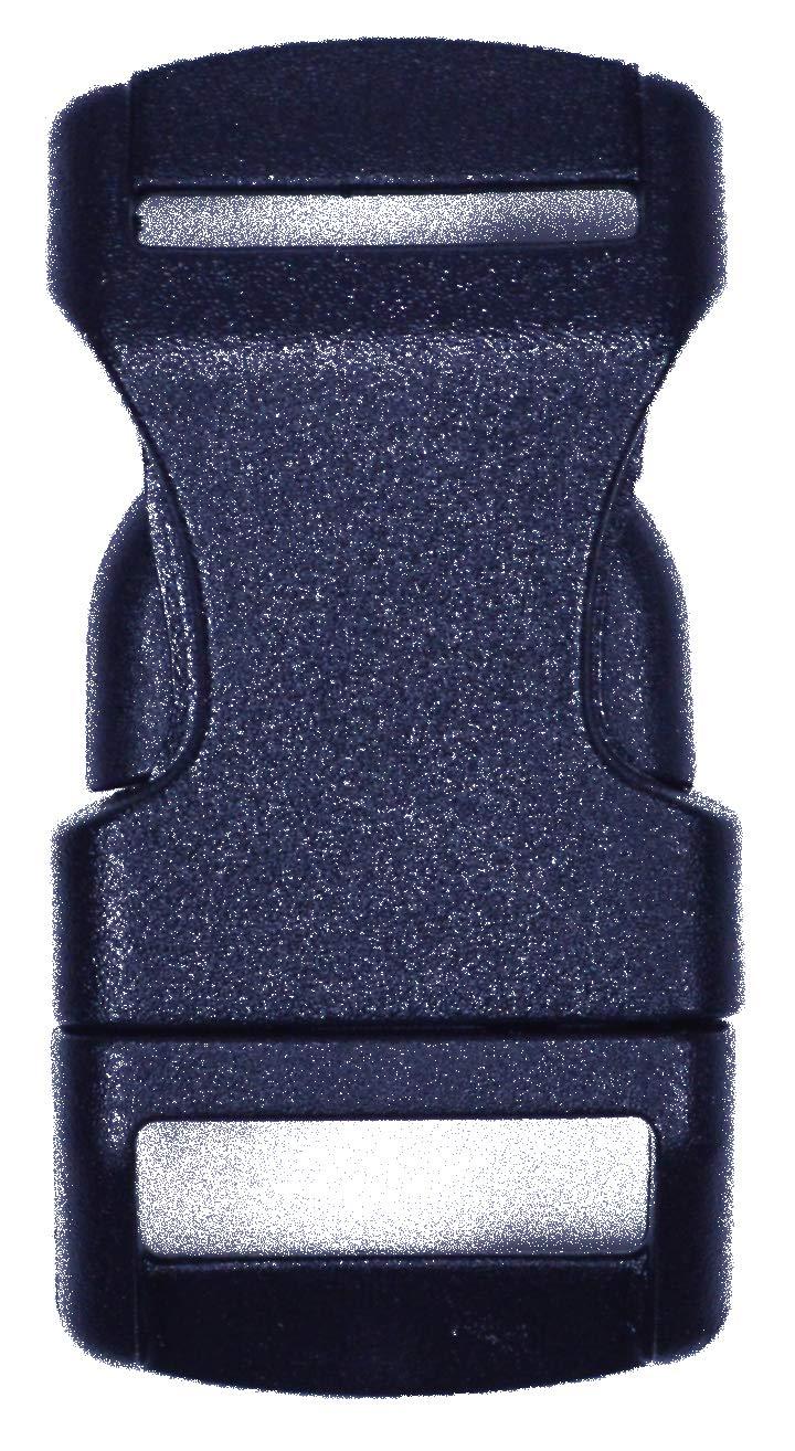 堅実な究極の BoredParacord Pack サイドリリース ブラック B07M8GVHDS プラスチックバックル - 複数のサイズと数量 B07M8GVHDS 1000 Pack|1 Inch/2 Inch 1/2 Inch 1000 Pack, 文具の森:979d3aed --- ciadaterra.com