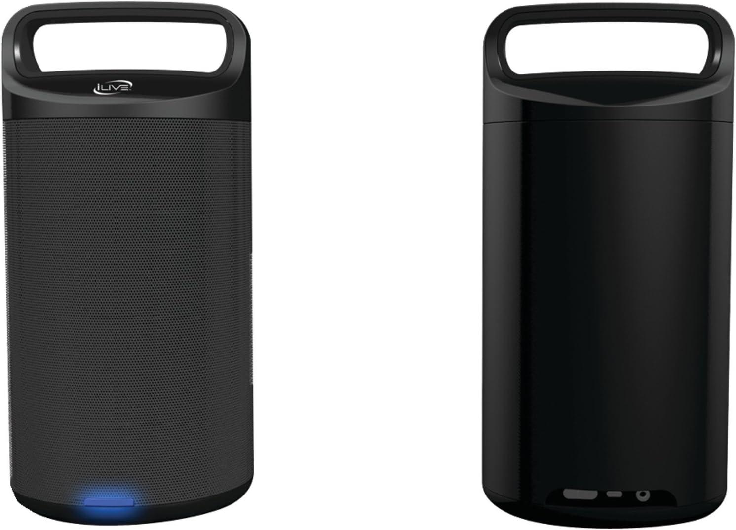 iLive ISBW2113B Portable Bluetooth Speakers