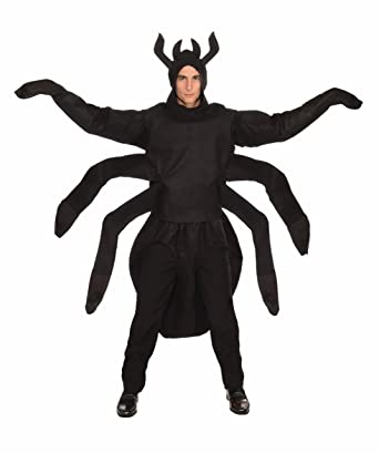 Forum Creepy Spider Costume Black One Size  sc 1 st  Amazon.com : spider adult costume  - Germanpascual.Com
