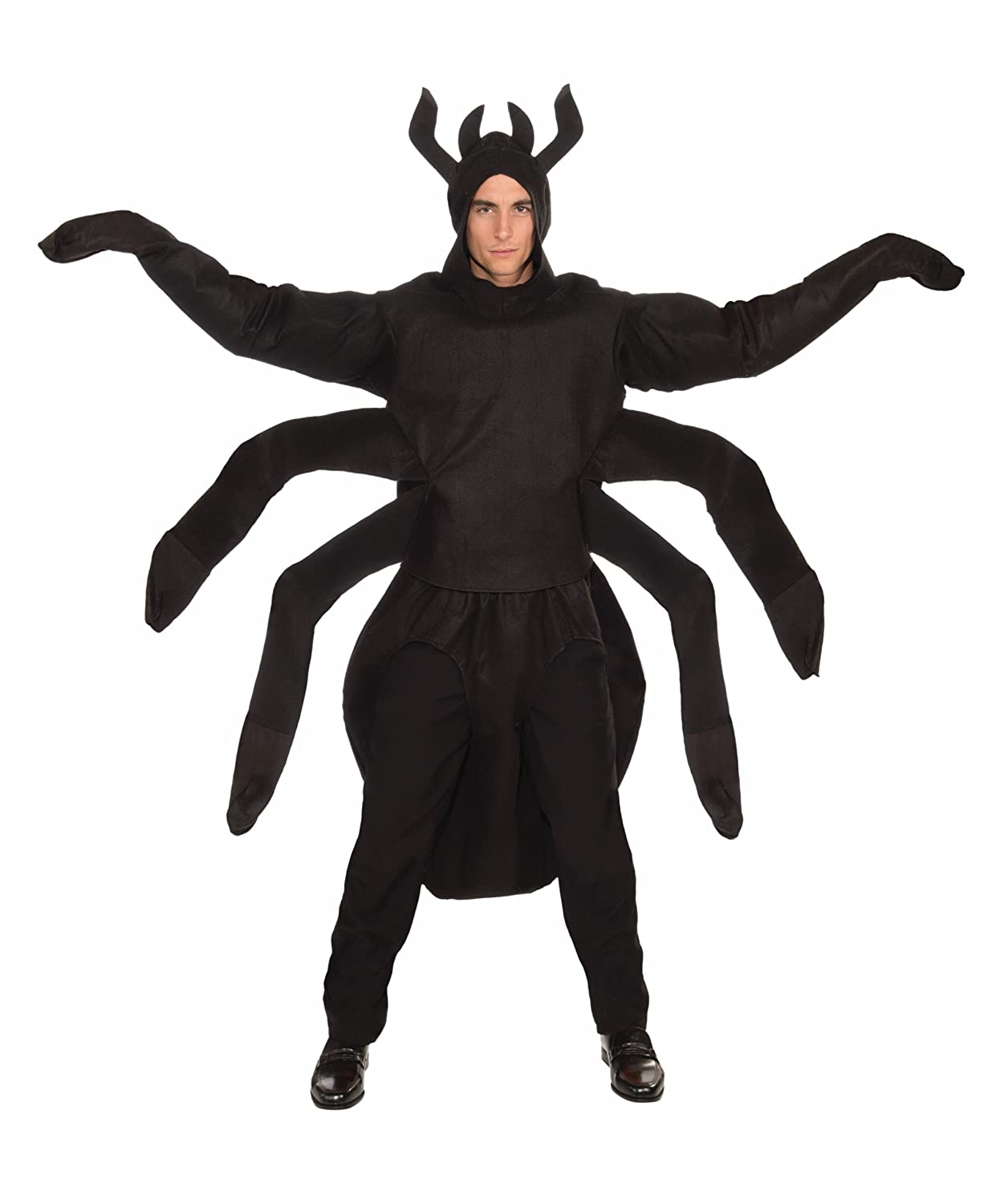 amazoncom forum creepy spider costume black one size clothing - Amazon Halloween Costumes Men