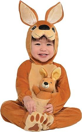 Amscan Dress Up - Disfraz de bebé Canguro, 0 – 6 meses: Amazon ...
