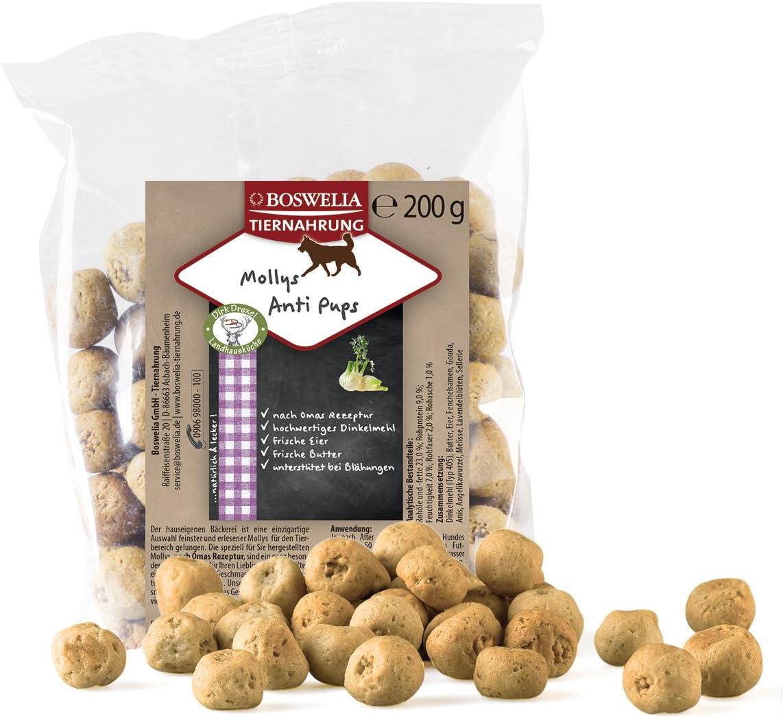 Boswelia mollys Anti Pups 200 g, 2 Unidades (2 x 200 g): Amazon.es: Productos para mascotas