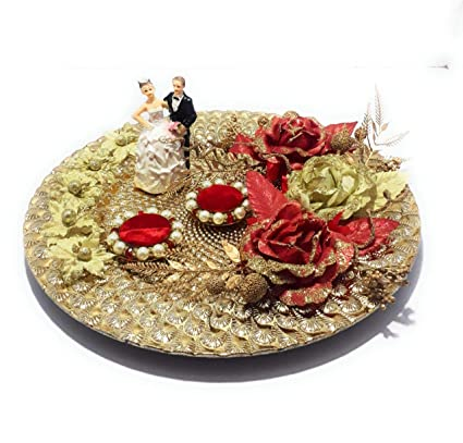 Buy Smart Creations Wedding Engagement Ring Ceremony Plate Platter