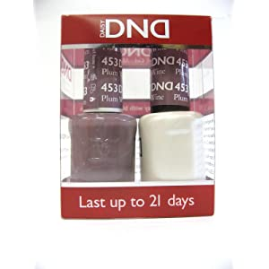 DND *Duo Gel* (Gel & Matching Polish) Fall Set 453 - Plum Wine by DND Gel
