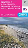 Landranger (22) Benbecula & South Uist (OS Landranger Map)