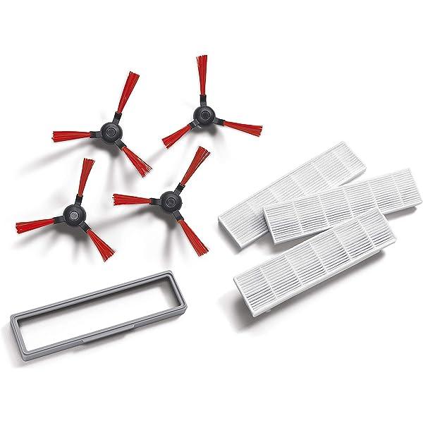 Vileda 160885 - Kit de Recambio de cepillos Laterales y filtros ...