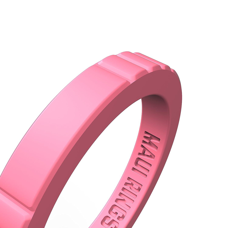 Maui Anneaux élégant Coque en silicone Bagues de fiançailles pour femme  empilable Anneaux en silicone Bague de mariage pour femme en silicone  Bracelets en ... 8c2ce74db5e