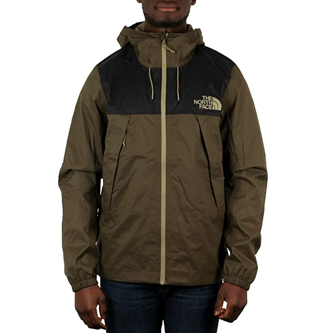 1ccdebb41f9f The North Face 1990 Mountain Q rain Jacket Taupe Green  Amazon.co.uk   Clothing
