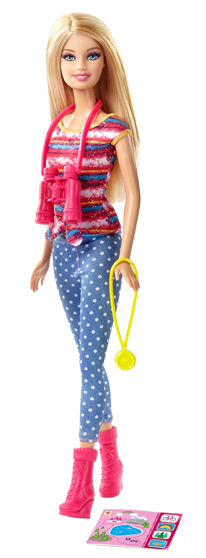 Envío 100% gratuito Barbie Life in the Dreamhouse    The Amaze Chase Camping Barbie Doll  tienda en linea