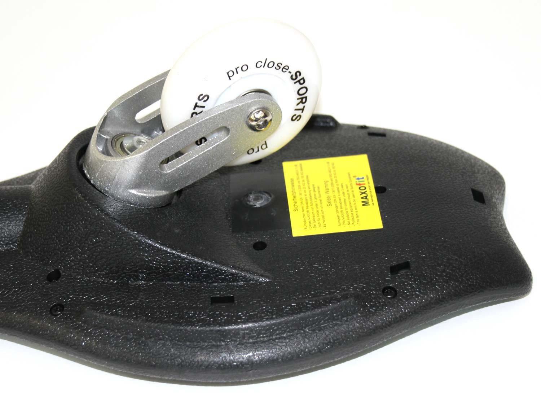 MAXOfit Waveboard Pro Close Mini Luna, Bis 129 Kg mit Tasche - Skateboard 14087