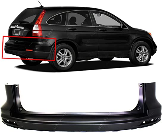 Partslink Number HO1100220 OE Replacement Honda Odyssey Rear Bumper Cover