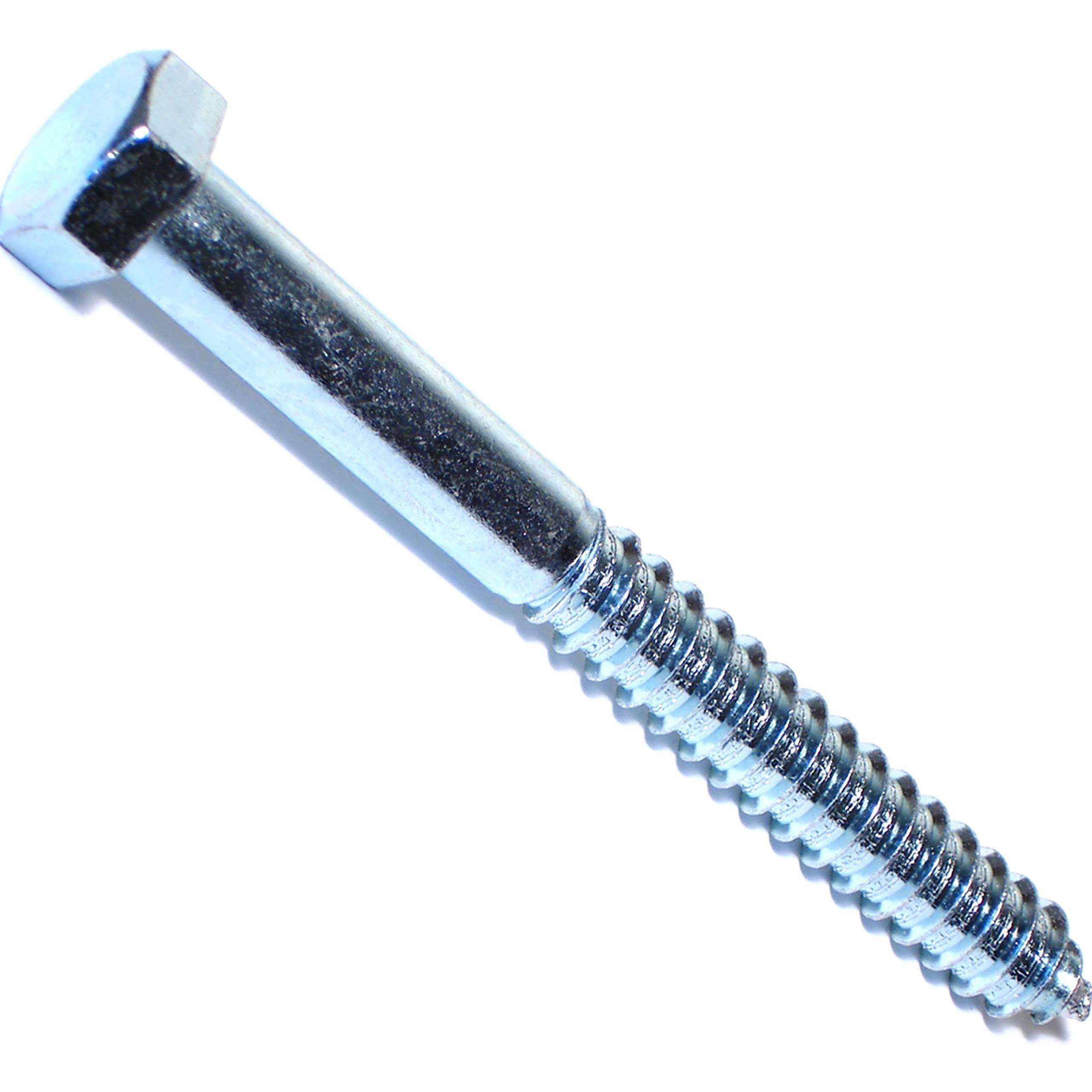 Hard-to-Find Fastener 014973260842 Hex Lag Screws, 5/8 x 6, Piece-25