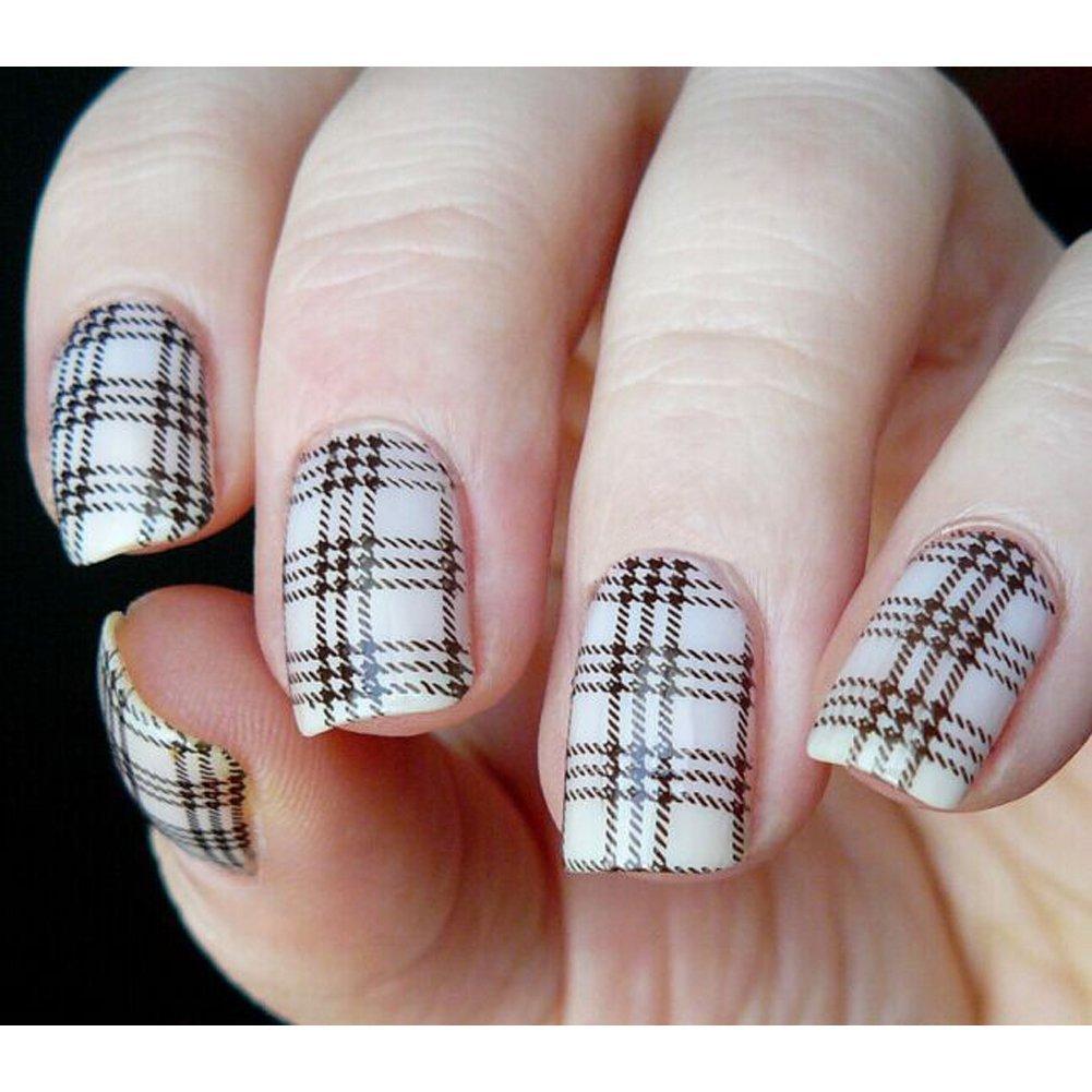 Nail Art Ideas stamp nail art : Amazon.com : Born Pretty Nail Art Stamping Plates Selected Classic ...