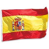 España 3x5ft / 90x150cm Bandera Nacional Grande los desfiles Bar Escuela Deportes Eventos Celebraciones del Festival