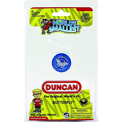 Worlds Smallest Duncan Butterfly Yo-Yo: Toys & Games