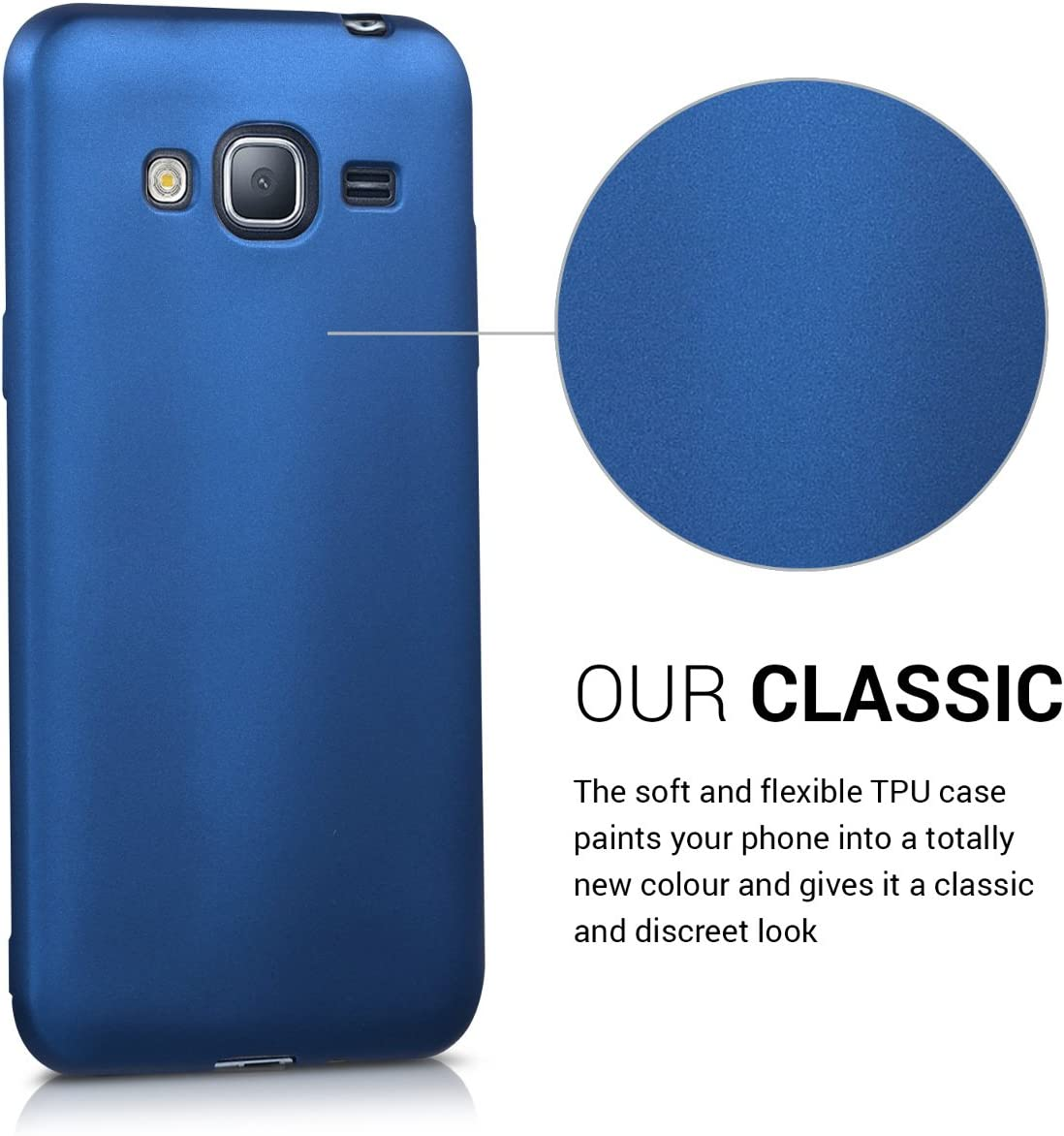 kwmobile Funda Compatible con LG K50S Carcasa m/óvil de Silicona Protector Trasero en Oro Rosa Metalizado