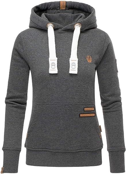 Navahoo Damen Sweatshirt Hoodie Pullover Pulli Sweater