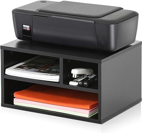 Amazon.com: FITUEYES - Soporte de madera para impresora con ...
