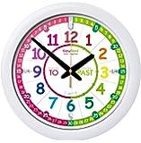 EasyRead time teacher ERTT-EN Wall Clock, Rainbow Past To