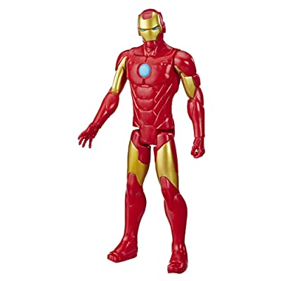Avengers Marvel Titan Hero Series Blast Gear Iron Man Action Figure: Toys & Games