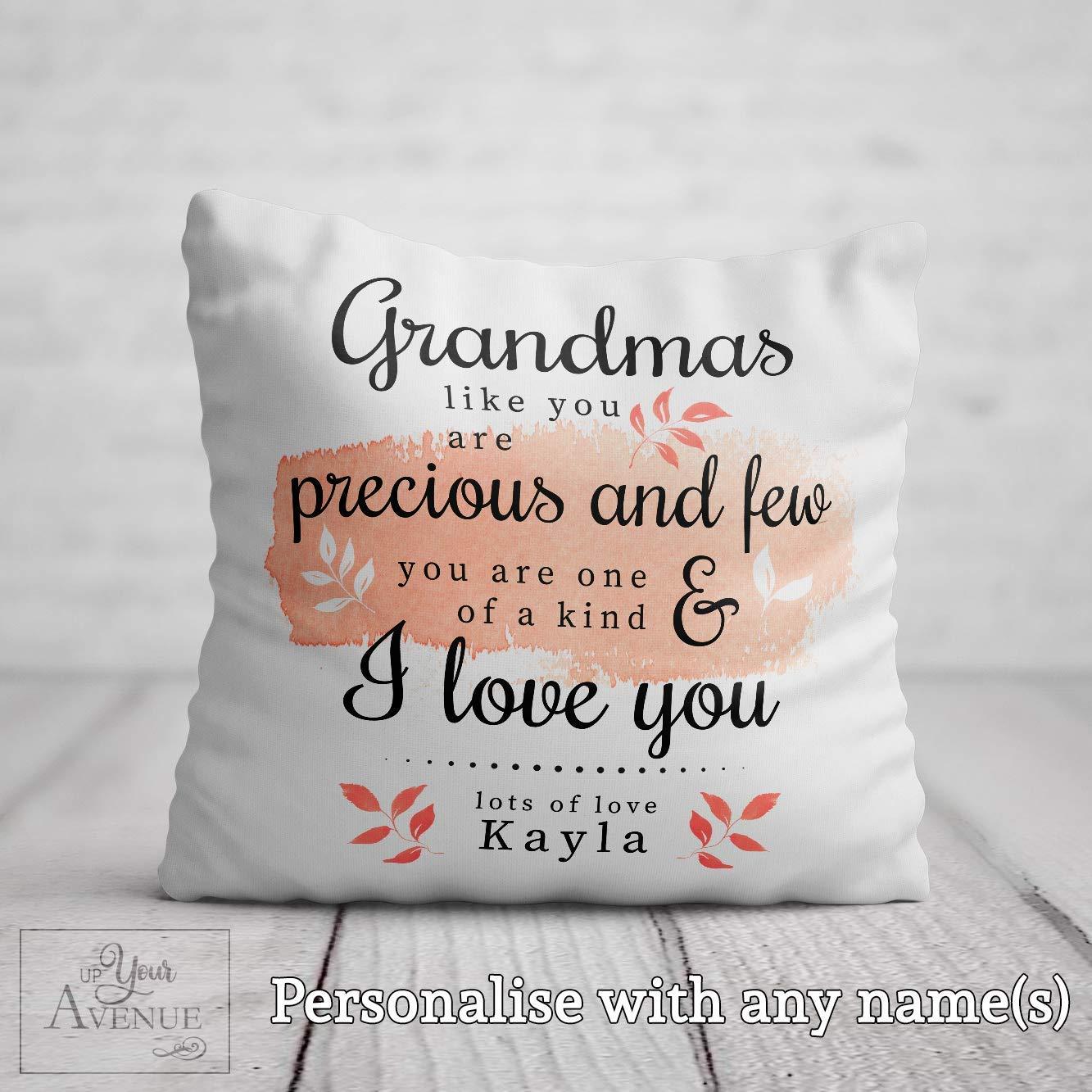 Grandma Pillow Cover Personalized