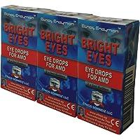Ethos Bright Eyes™ Carnosine NAC Eye Drops - NAC Eye Drops (Safe for AMD Sufferers) - As Seen on UK National TV with Amazing Results! NAC n acetyl carnosine eye drops. (3-Pack)