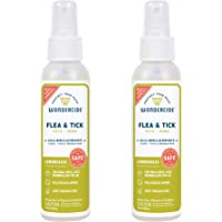 """Wondercide Natural Products - Flea, Tick and Mosquito Control Spray for Dogs, Cats, and Home €"""" Flea and Tick Killer, Repellent, Prevention, Treatment- Eco-Friendly - 4 oz 2-Pack"""
