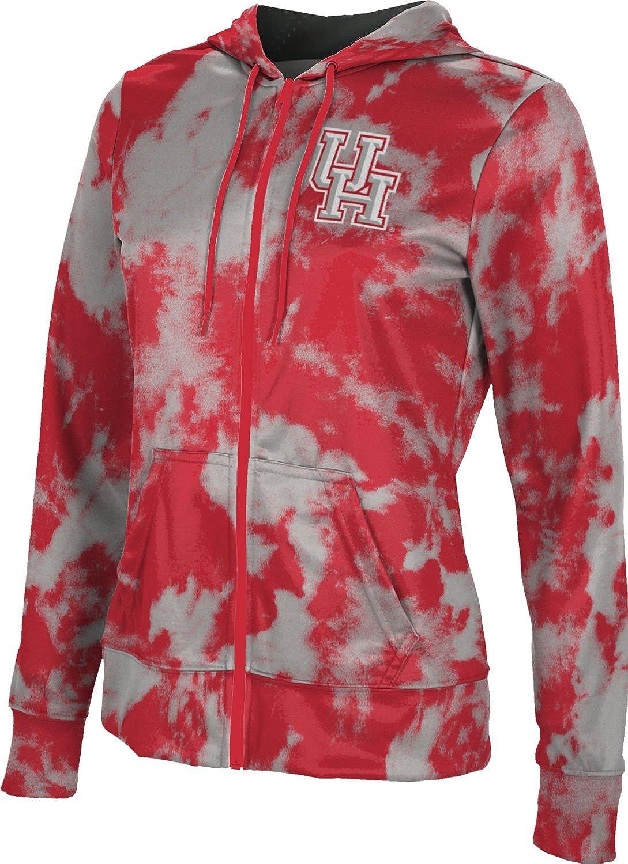 Grunge School Spirit Sweatshirt ProSphere University of Houston Mens Pullover Hoodie