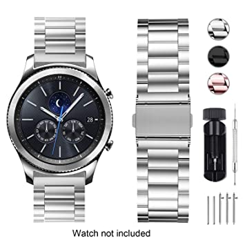 "Fullmosa Bracelet Compatible avec Huawei Watch/ASUS Zenwatch 2 1.45""/Withings Steel HR"