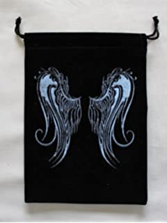Amazon.com: FindSomethingDifferent Angel Wings Tarot Bag ...