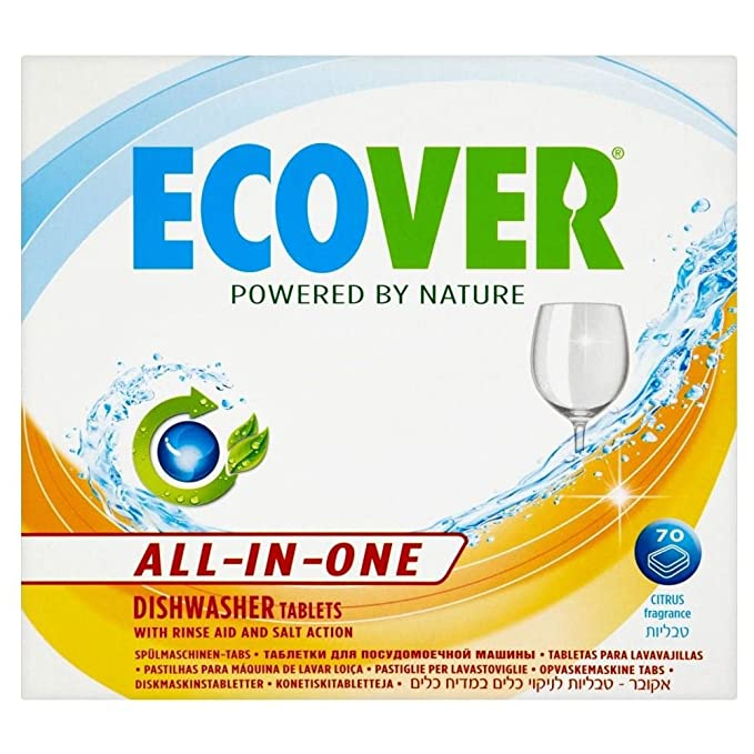 Amazon.com : Ecover All-In-One Dishwasher Tablets (70 ...