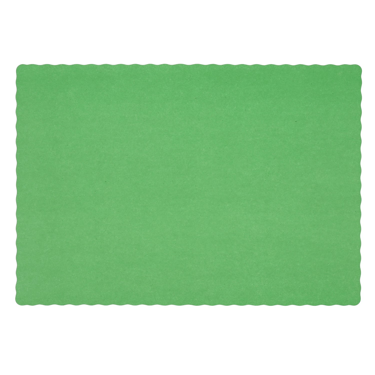 Royal Green Disposable Placemat 9.25'' x 13.25'', Package of 1000