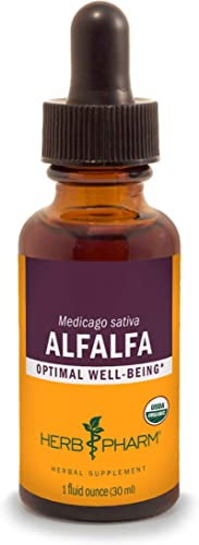 Herb Pharm Certified Organic Alfalfa Liquid Extract – 1 Ounce