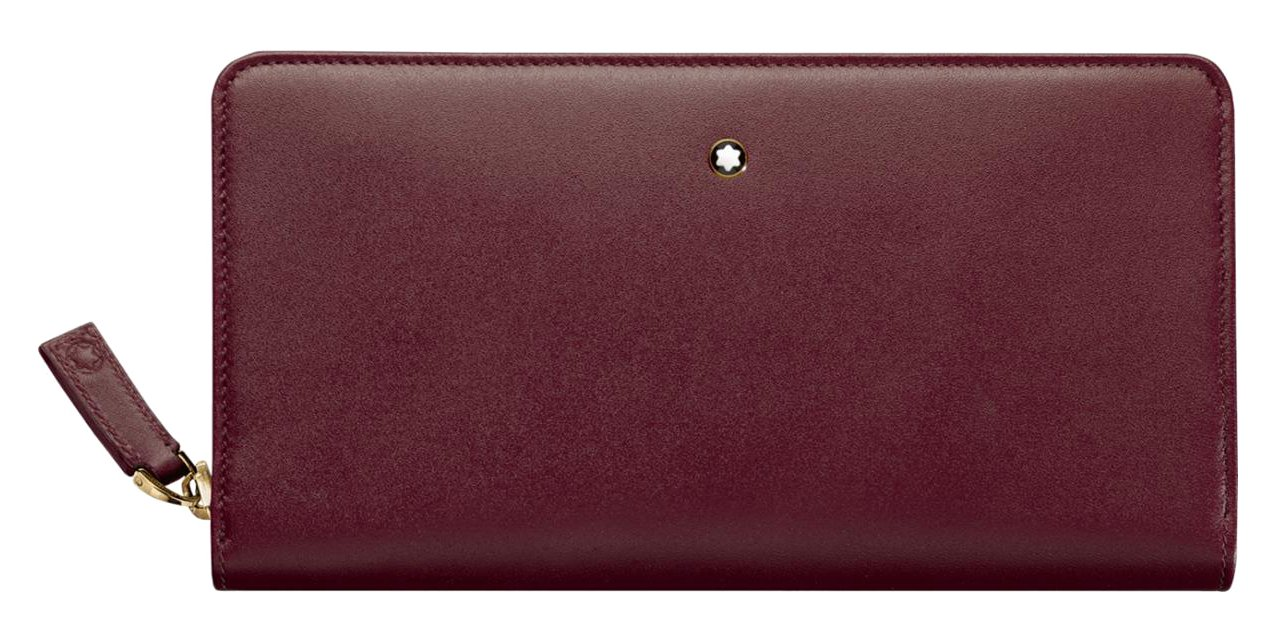 Montblanc Coin Purse, Burgundy red (red) - 114533