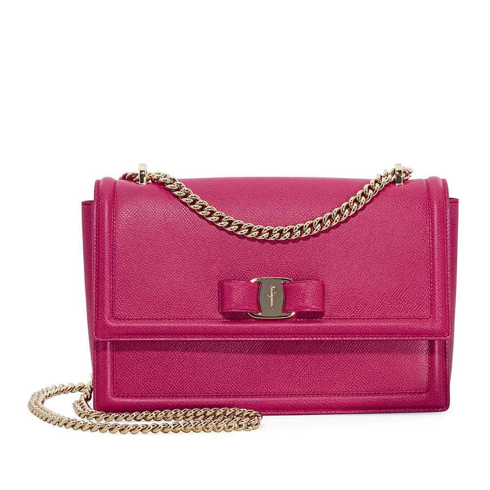 Crossbody Bag Salvatore Ferragamo ginny Women - Leather (21G4620683899)   Amazon.co.uk  Clothing ab7c0e98ee