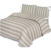 Luxuary–Juego de funda de edredón para cama