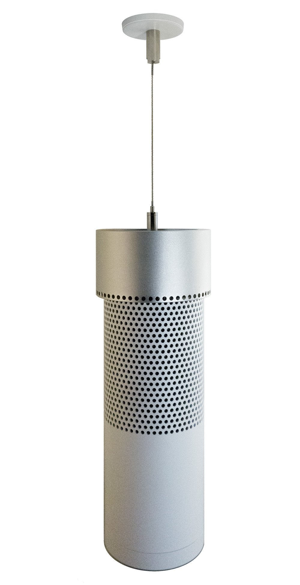 Skymount Pendant Ceiling Mount for the Amazon Echo (1st Generation) (Silver)