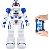 Remote Control Dancing Robot - Programmable RC Robots Multiple Function Singing / Dancing / Walking / Gesture Sensor - Perfect Gift for Kids by Leoking