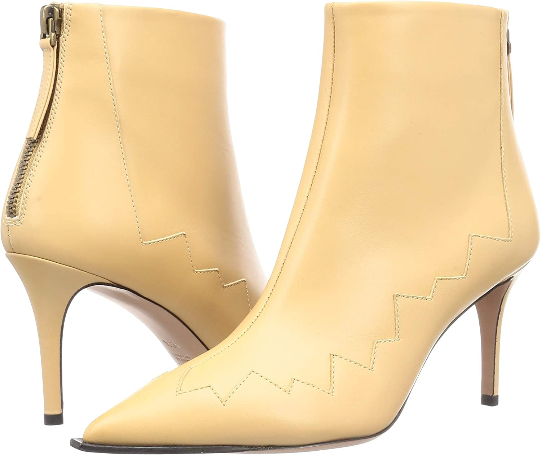 【ペリーコ】ファッションブーツ WIDE EDGE BACK ZIP SHORT BOOTS レディース バターミルク