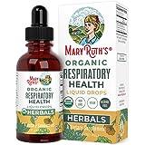 USDA Organic Respiratory Health Liquid Drops by MaryRuth's   Tonic Herbal Blend   Respiratory Health & Immune Support   Non-G