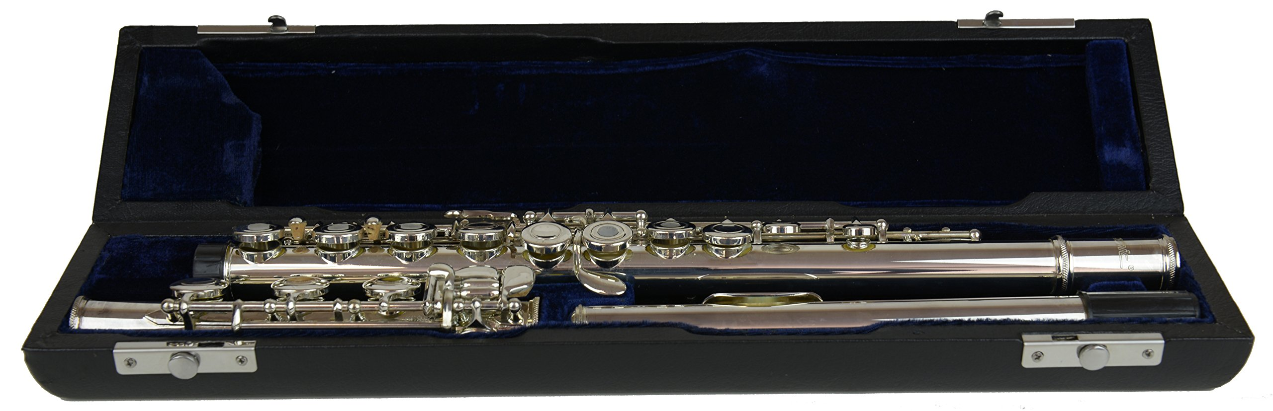 Signature Music 17 Open Hole Silver Low B Flute 2821S by Signature Music Instruments
