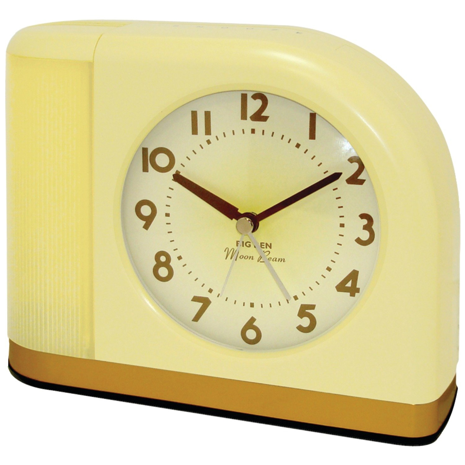 Amazon Westclox X 1950s Moonbeam Clock with Lighted Dial