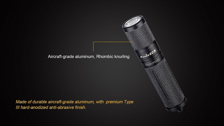 FENIX E05-2014 Edition 85 Lumens // 45 Metres LED Keyring Torch