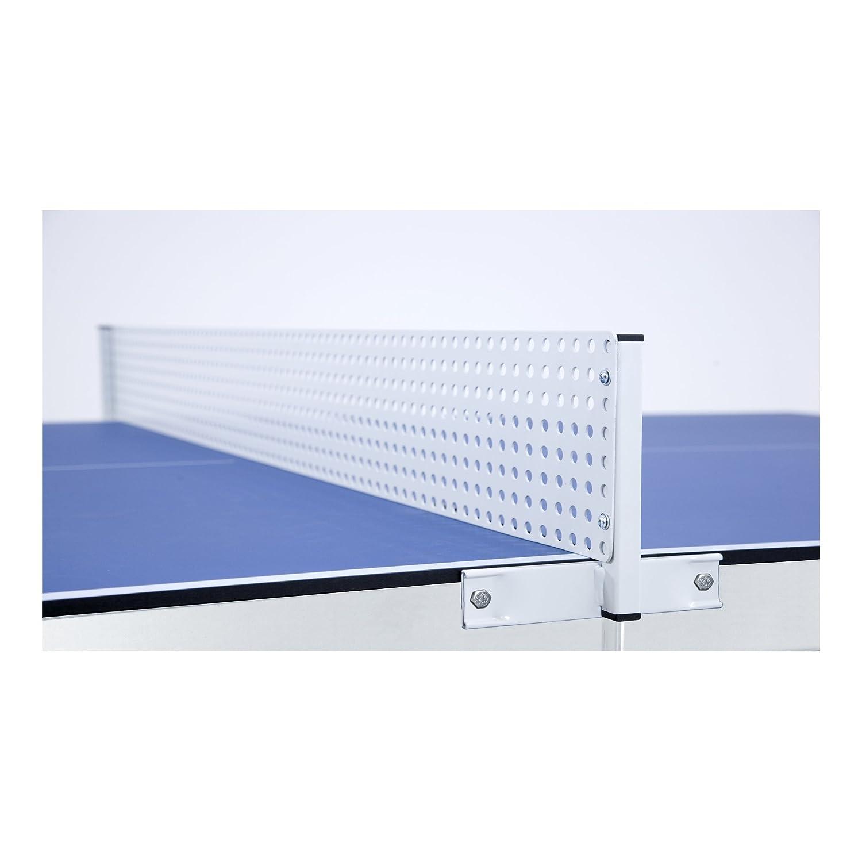 Garlando Mesa de Ping Pong Mesa de jard/ín para Exterior de Color Azul