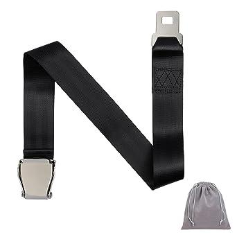 Haoranjia - Extensor de cinturón de seguridad para avión para mujer embarazada o hombre gordo, universal, ajustable, piezas de cinturón de seguridad ...