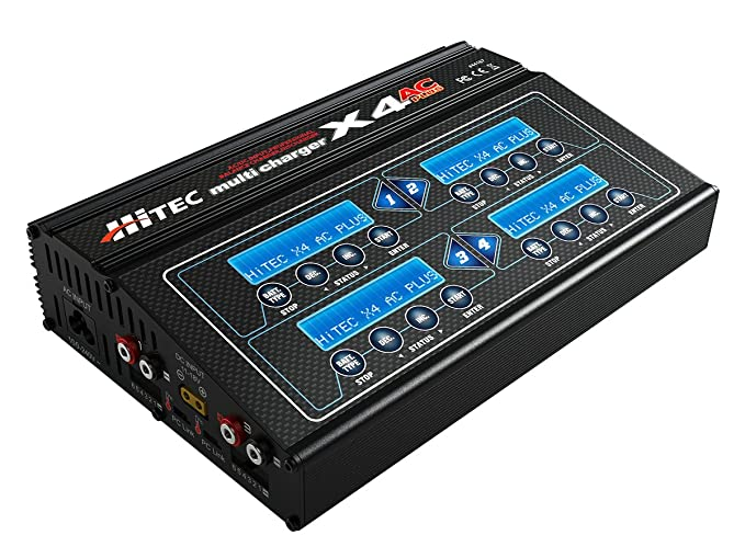 Amazon.com: Hitec 44167x4AC Plus 4-Port AC/DC ...