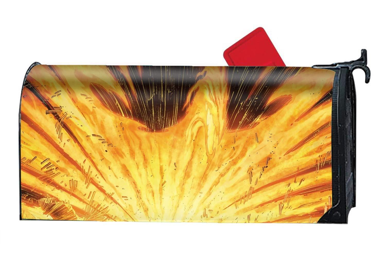 DHDFHDF Phoenix Power custom mailbox covers magnetic mailbox wrap 9'' x 21''