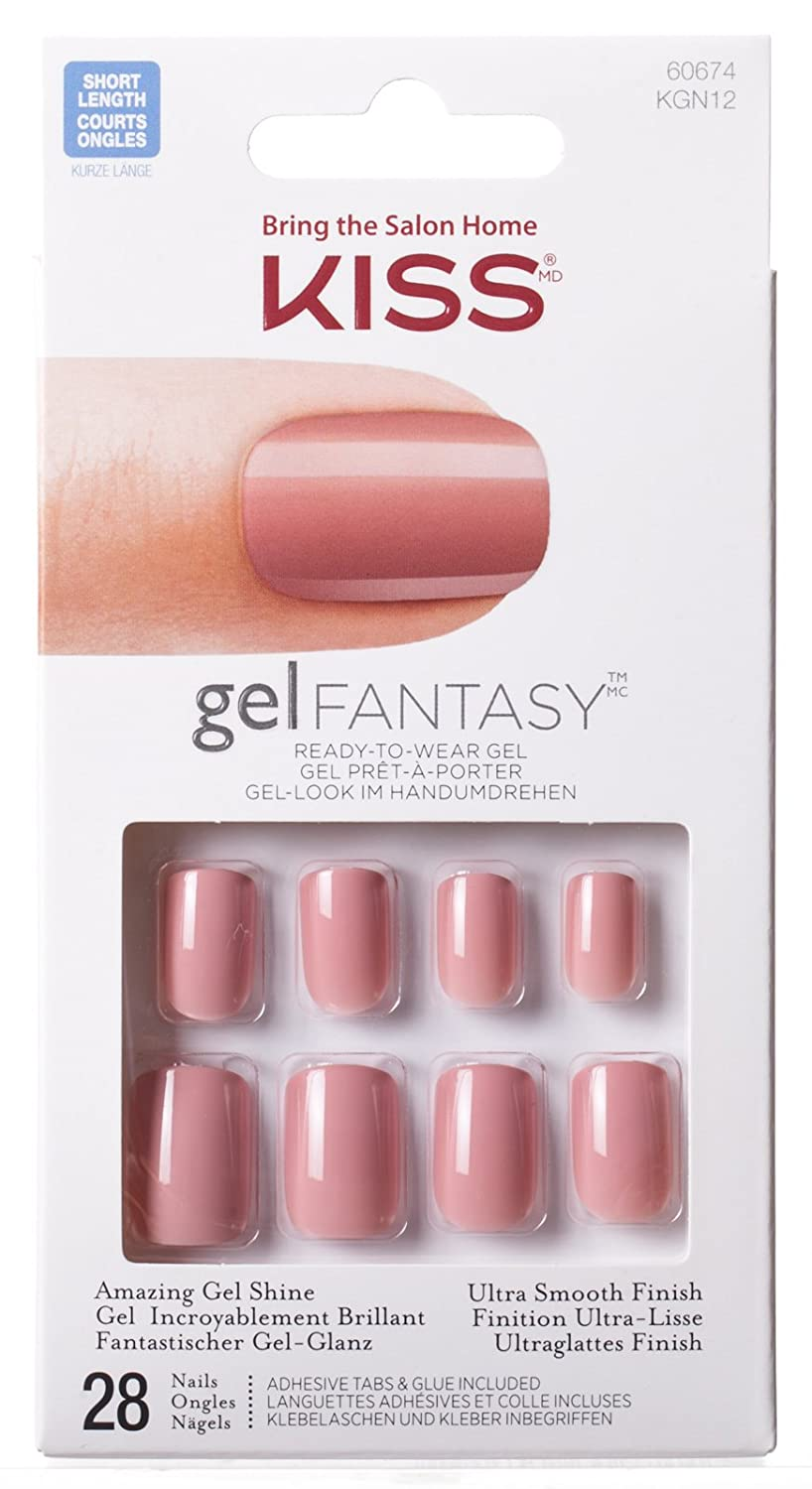 Amazon.com: Kiss Gel Nail Polish, Ab Fab: Beauty