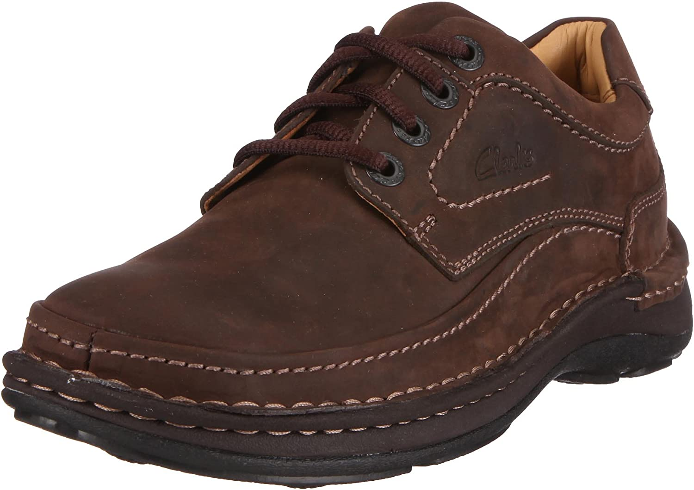 Clarks Nature Three, Zapatos de Cordones Derby para Hombre