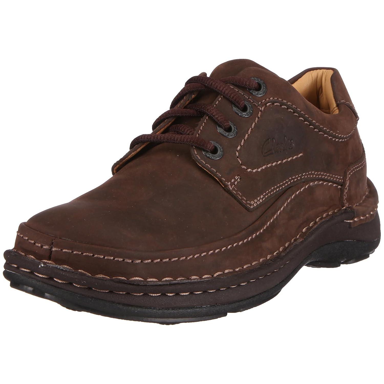 TALLA 42.5 EU. Clarks Nature Three, Zapatos de Cordones Derby para Hombre